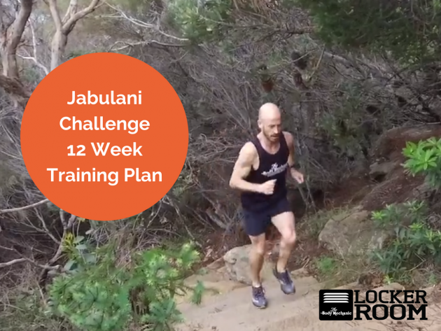 Jabulani 12 week training plan Update